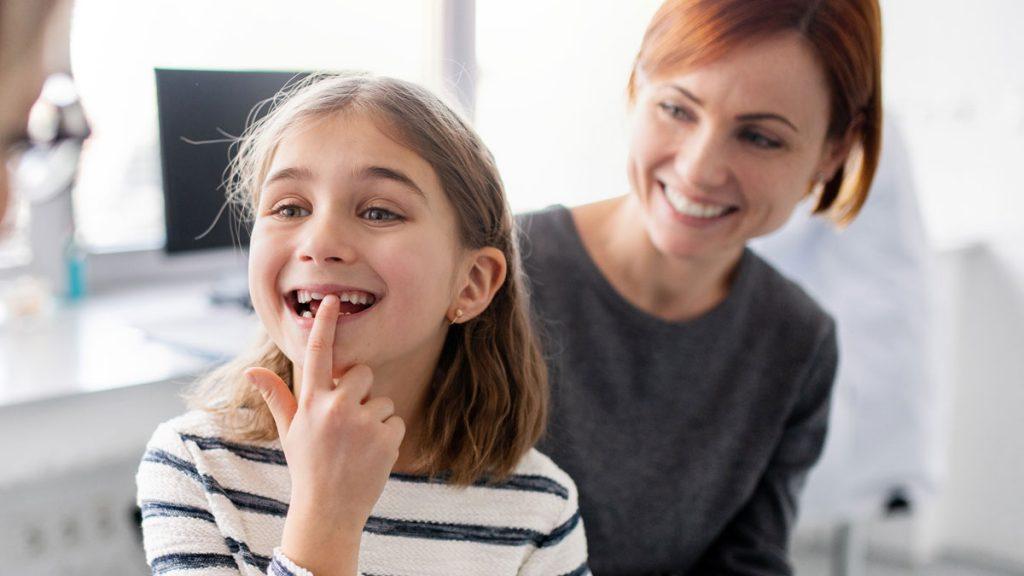 Mit dem Kind zum Zahnarzt in Herzebrock